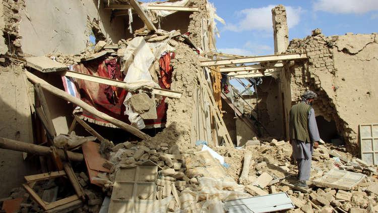 ارتفاع حصيلة الضحايا المدنيين للغارات الجوية في أفغانستان