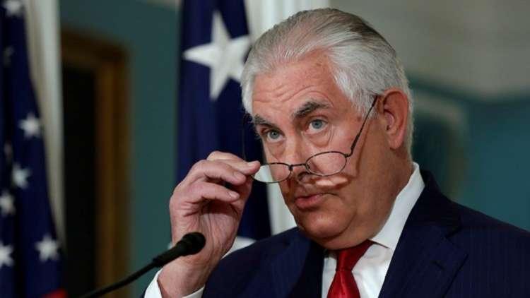 تيلرسون يبحث قضية إيران مع مسؤولين دوليين