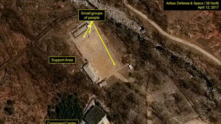 رصد زلزال قرب موقع التجارب النووية في كوريا الشمالية!
