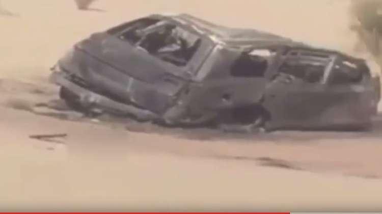 شاب سعودي يبث بهاتفه مشهد اصطدام كارثي!