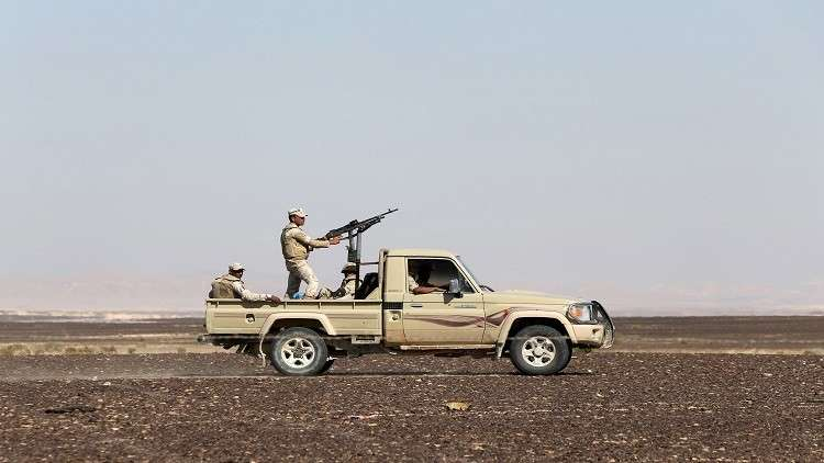 مصرع 6 جنود مصريين شمال سيناء