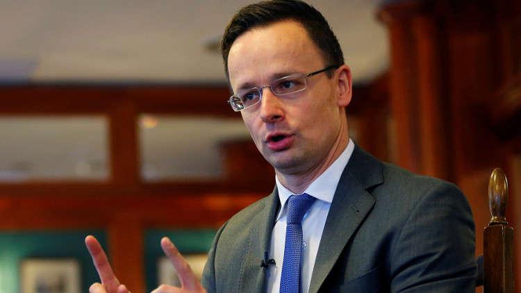 هنغاريا تهدد بإغلاق طريق أوكرانيا إلى الاتحاد الأوروبي