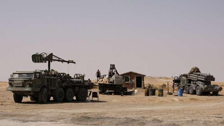 الجيش السوري يقطع خطوط الإمداد عن
