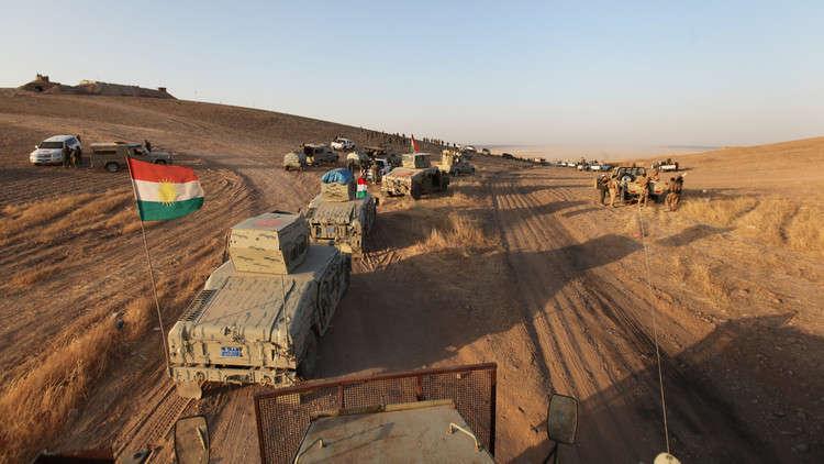 البيشمركة تتراجع قرب كركوك في مساع لخفض التوتر مع القوات العراقية