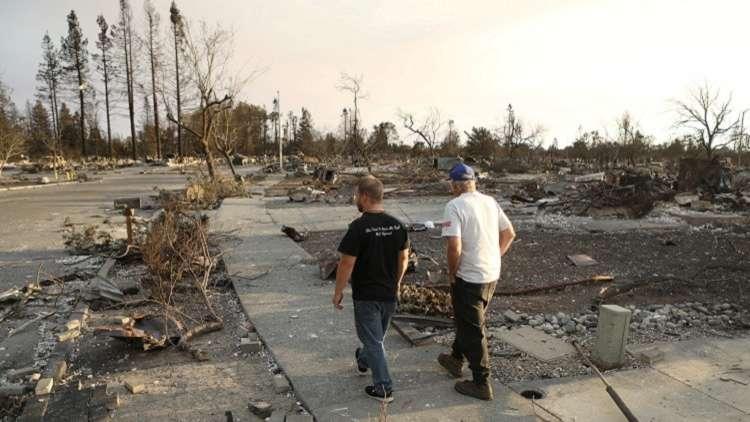 أكبر خسارة بشرية جراء حرائق الغابات في كاليفورنيا منذ 84 عاما!