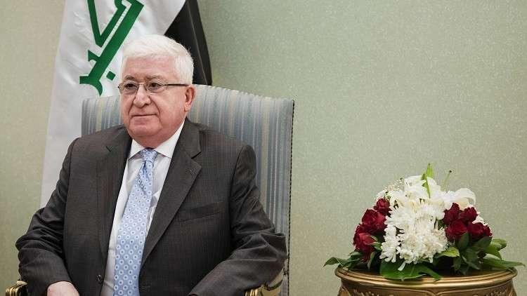 العراق ينفي نقل رئيسه رسالة من بغداد إلى القيادات الكردية
