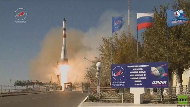 إطلاق شاحنة روسية إلى المحطة الفضائية الدولية من