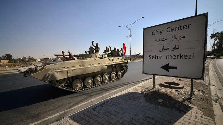 تعرّف على المناطق التي سيطرت عليها القوات العراقية في كركوك