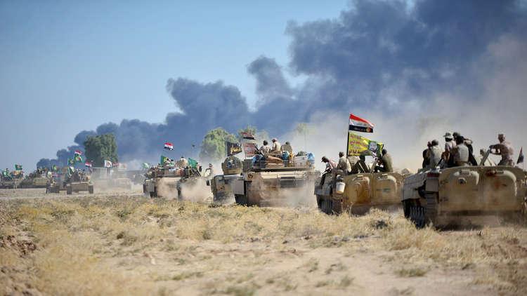 اشتباكات بين القوات العراقية ومسلحين من