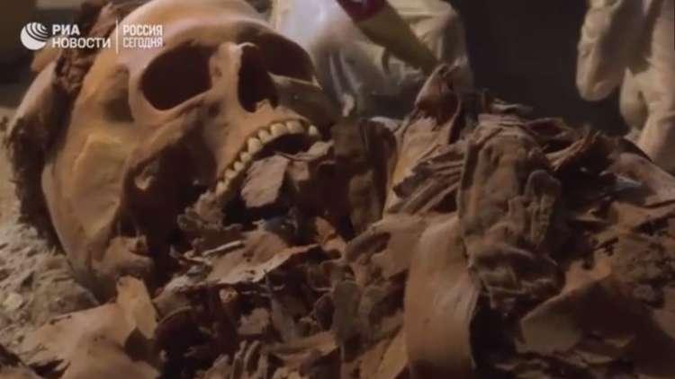 اكتشاف أثري جديد في مصر..
