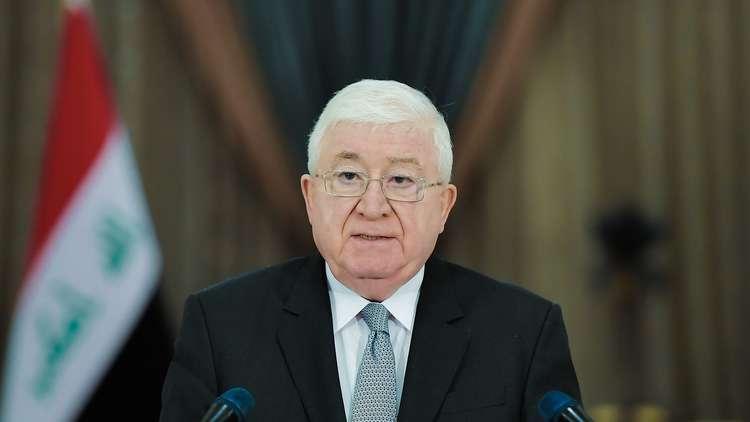 الرئيس العراقي : الإشراف الأمني للبيشمركة على كركوك كان دستوريا
