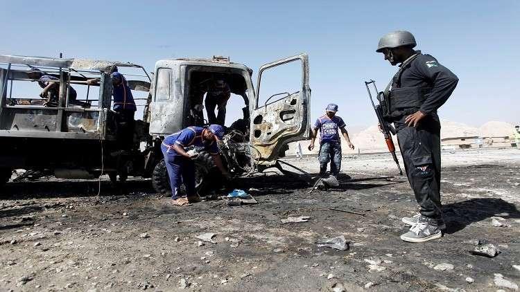 مقتل 7  بتفجير استهدف شاحنة للشرطة في باكستان
