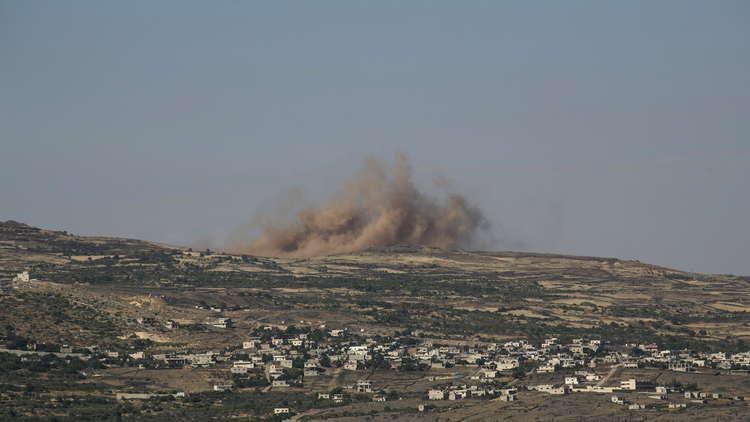 إطلاق صافرات الإنذار في الجولان المحتل بعد سقوط قذائف من سوريا