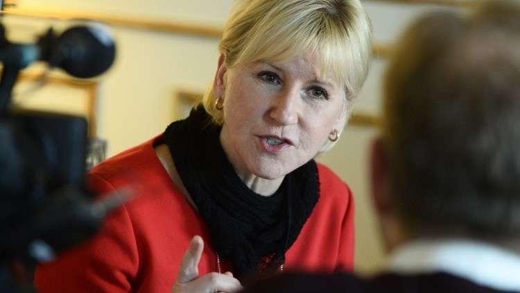 Image result for وزيرة خارجية السويد تكشف عن تعرضها لتحرش جنسي