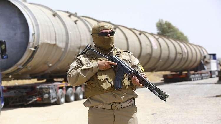 القوات الكردية لم تنسحب من حقل