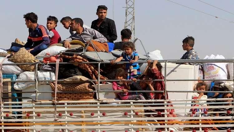 فرار نحو 100 ألف كردي من كركوك منذ الاثنين الماضي