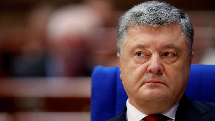 رئيس أوكرانيا يتهم منظمي الاحتجاجات بالسعي إلى زعزعة الأمن في البلاد