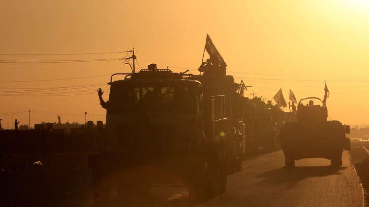 القوات العراقية تستقر على بعد كيلومترين من أربيل