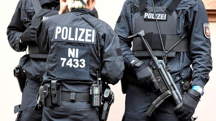 عناصر الشرطة الألمانية