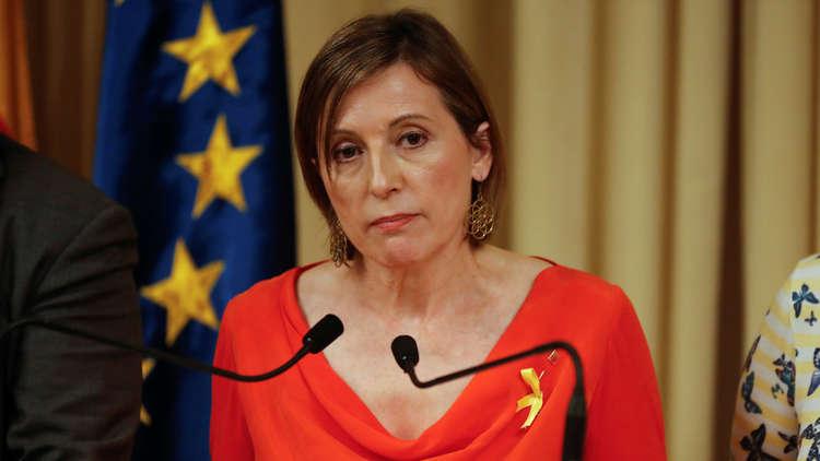 رئيسة البرلمان الكتالوني: إجراءات الحكومة الإسبانية
