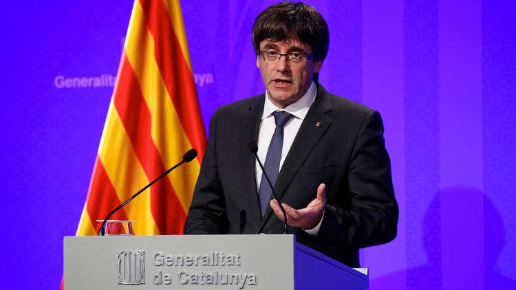 رئيس كتالونيا يرفض إجراءات الحكومة الإسبانية ضد الإقليم