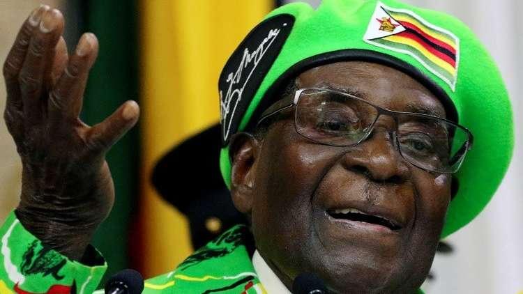 روبرت موغابي سفيرا للنوايا الحسنة!