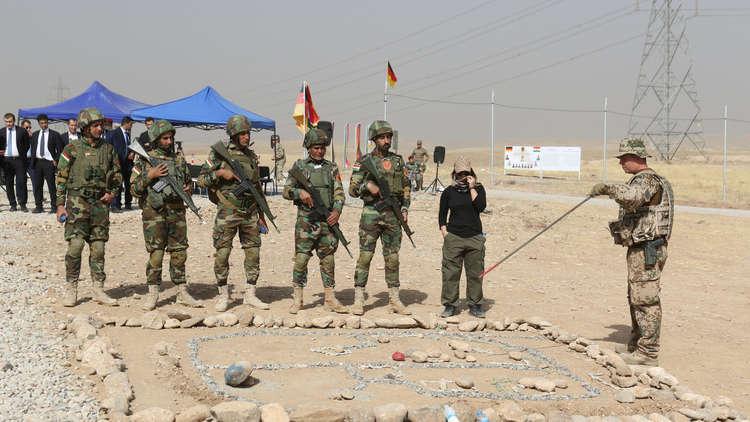 القوات الألمانية تستأنف مهمتها الاستشارية شمال العراق