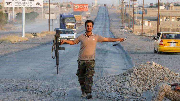 البيشمركة: إغلاق طريق سنجار-دهوك لمنع التواصل مع سوريا