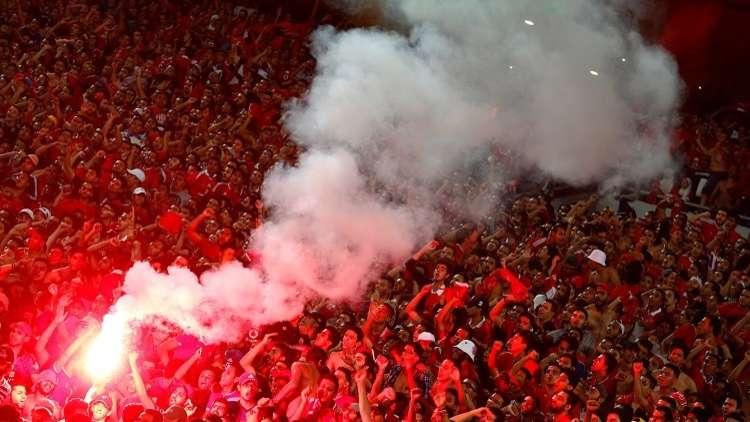 القبض على العشرات من مشجعي الأهلي المصري