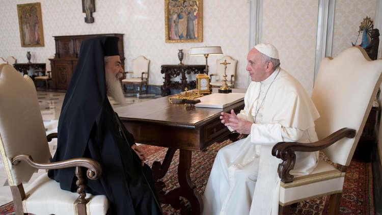 البابا يدعو للحفاظ على