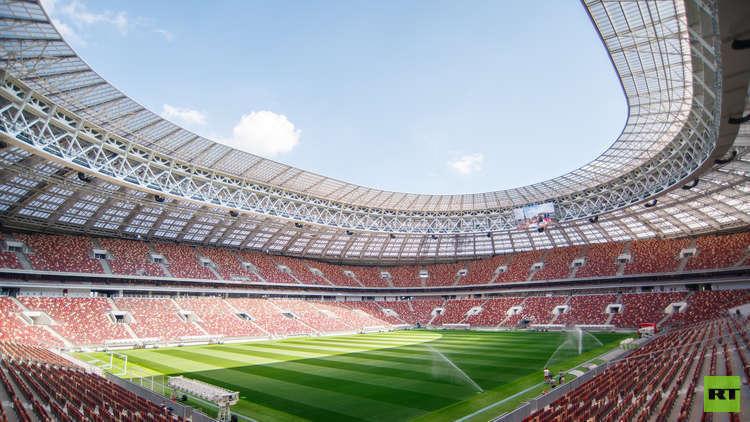 """""""لوجنيكي"""" يستوعب 78 ألف متفرج في مباراة روسيا والأرجنتين"""