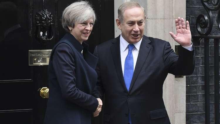 ماي: فخورة بدور بريطانيا في إقامة إسرائيل وسنحتفل بمئوية