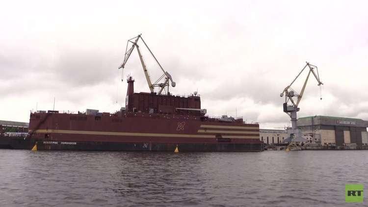 روسيا تختبر أول محطة كهروذرية عائمة في العالم
