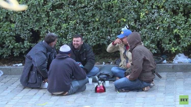 أوضاع مأساوية للاجئين في فرنسا