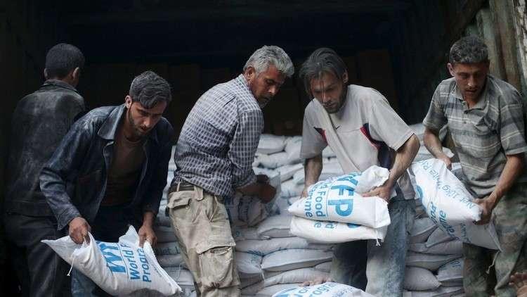 مسلحون يفرضون إتاوة على قوافل المساعدات الأممية في ريف دمشق