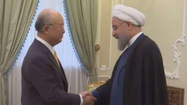 روحاني: الوكالة الدولية هي من يؤكد التزامنا بالاتفاق النووي
