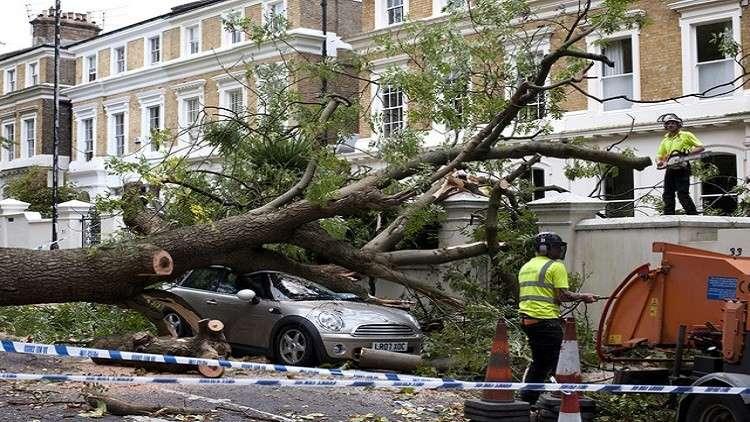 مصرع شخصين في إعصار ضرب بولندا