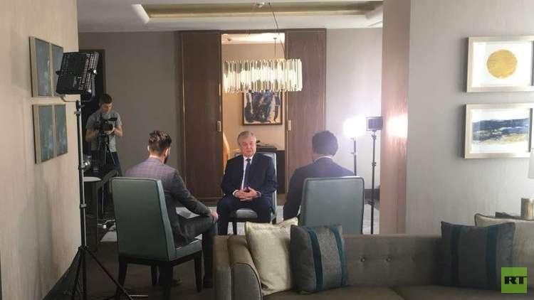 لافرينتيف لـRT: الأسد يدرك أهمية إطلاق الحوار الوطني لحل الأزمة السورية