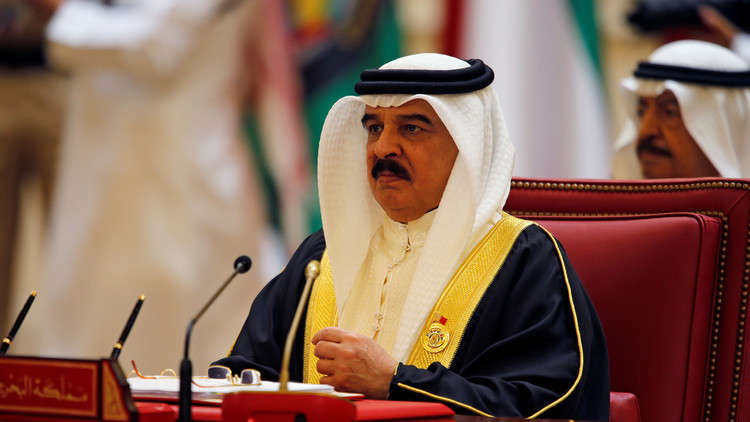 ملك البحرين: حان الوقت لاتخاذ إجراءات أكثر حزما تجاه قطر