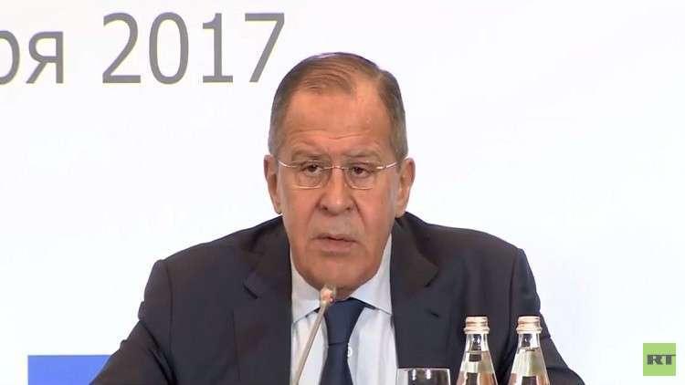 لافروف: العقوبات سلاح أمريكا لإزاحة روسيا من الأسواق العالمية