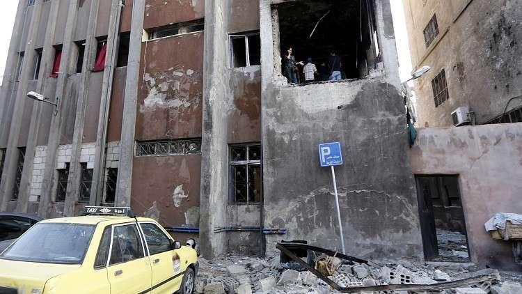 إصابات وتضرر للمنازل في قصف على أحياء دمشق