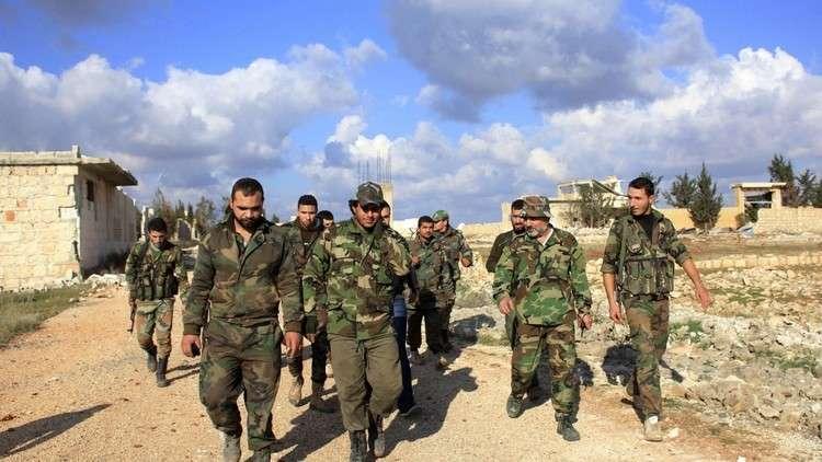 الجيش السوري يعثر على آلاف الأطنان من الحبوب سرقها