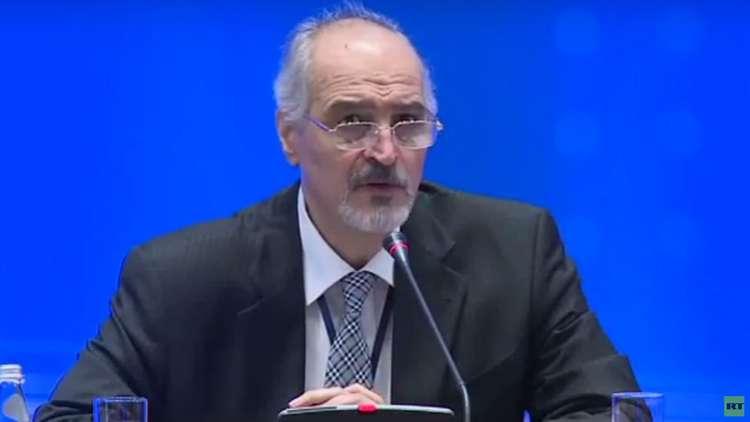 الجعفري: الاتفاق على إنشاء منطقة لخفض التصعيد في إدلب بسوريا