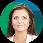 رئيسة تحرير شبكة RT وسبوتنيك مارغريتا سيمونيان