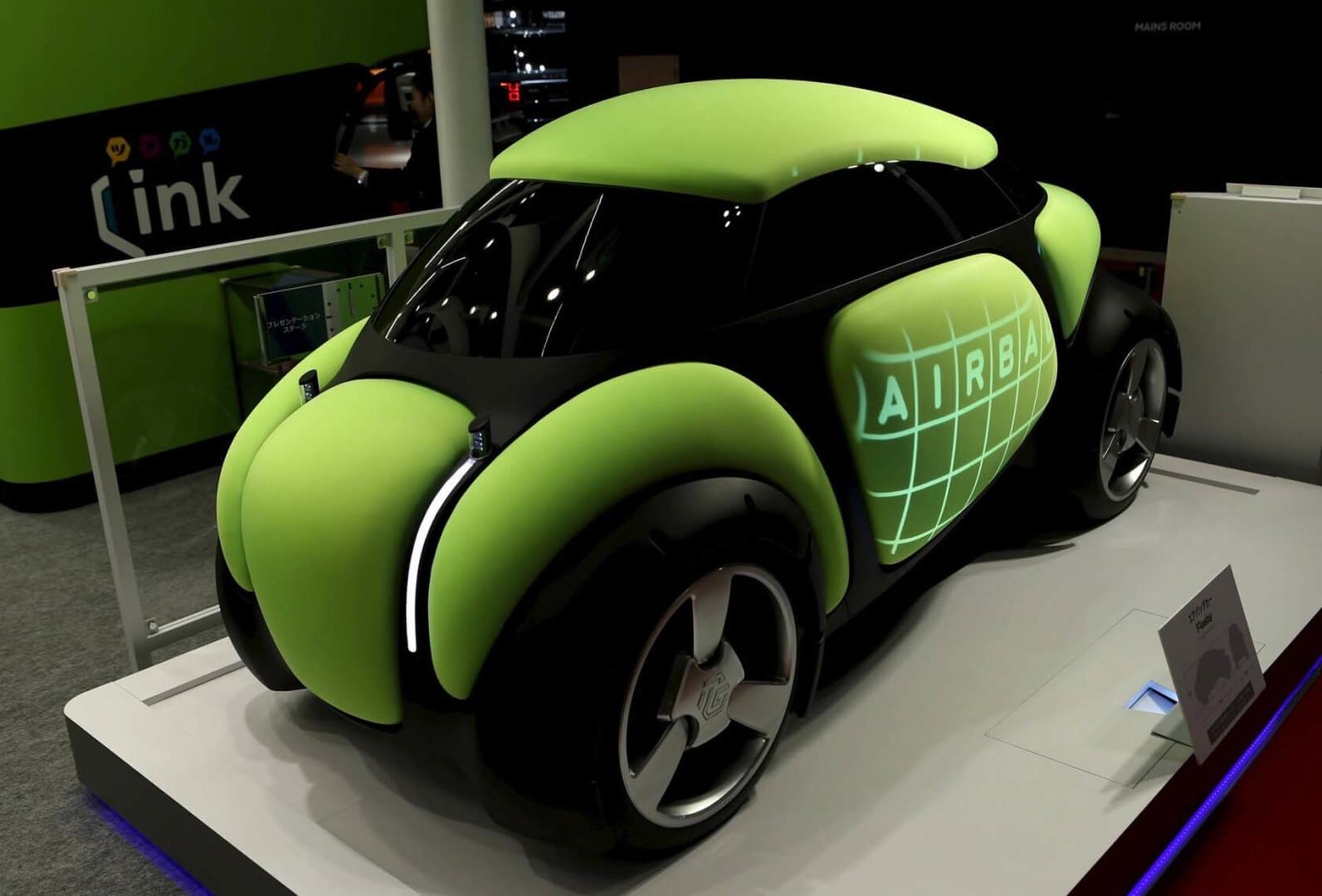 كشف النقاب عن النموذج الأولي للسيارة الغريبة