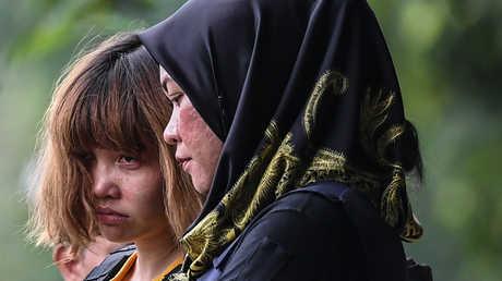 المتهمتان في قضية اغتيال كيم جونغ نام