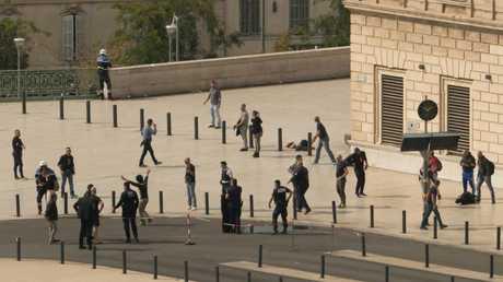 بعد الهجوم في محطة القطارات بمارسيليا