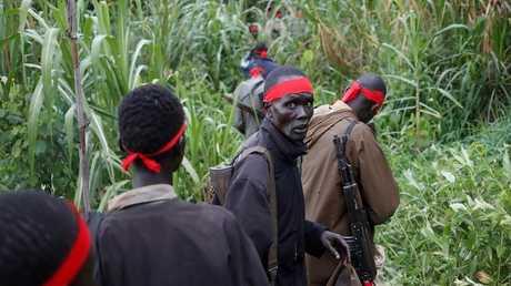 المتمردون في جنوب السودان