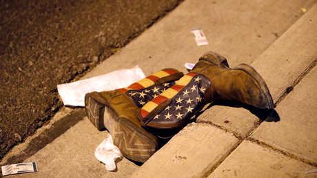 موقع الهجوم في لاس فيغاس