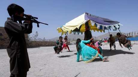 أطفال أفغان - أرشيف -